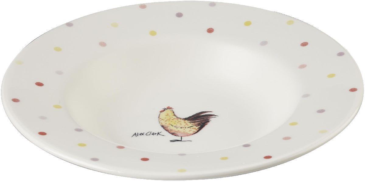 Тарелка глубокая Churchill Петухи, диаметр 22 см блюдо churchill диаметр 28 5 см