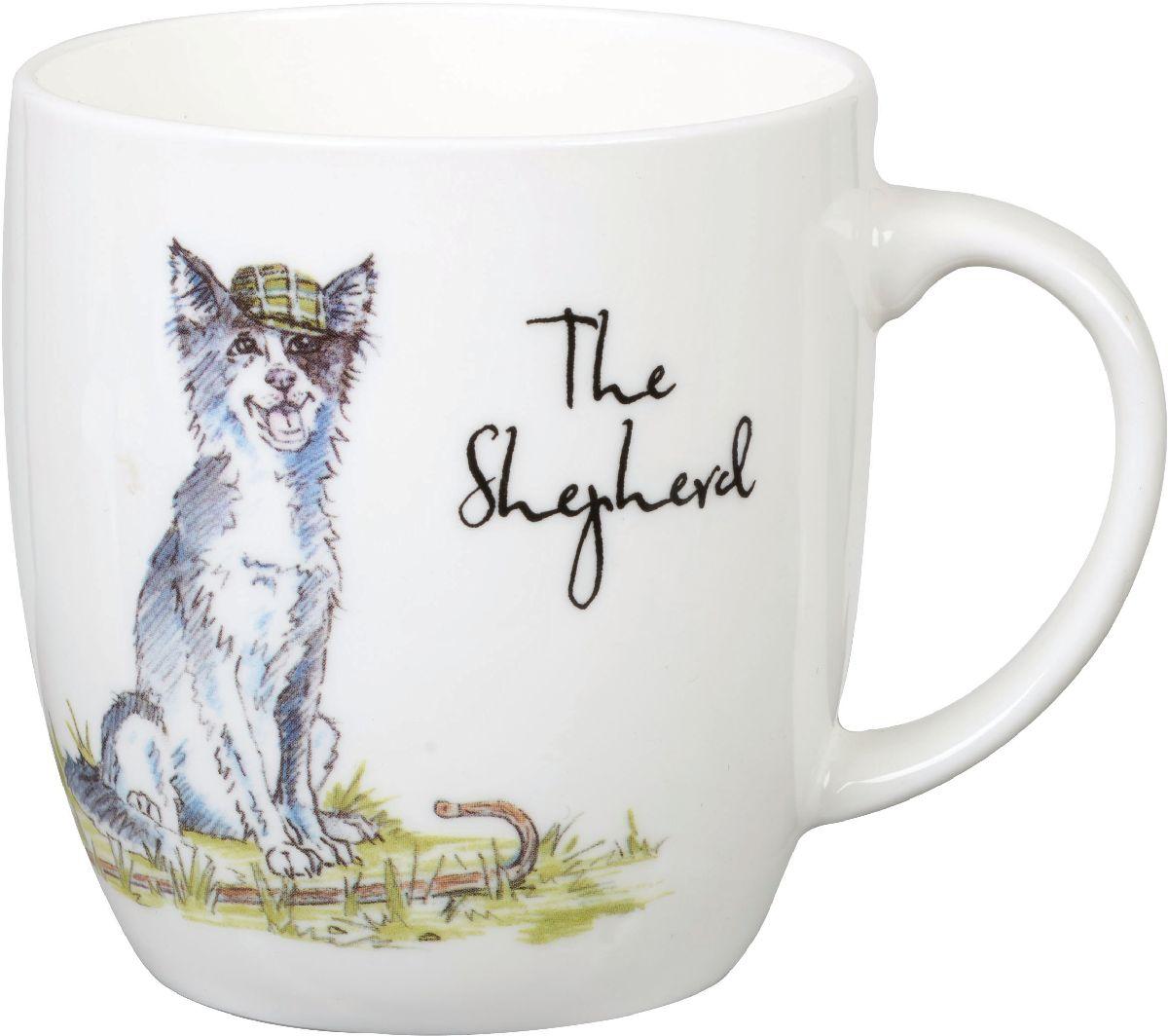 """Кружка """"Churchill"""" выполнена из фарфора и украшена оригинальным рисунком.   Такая кружка отлично подойдет для горячих и холодных напитков. С ней ваши любимые напитки будут еще вкусней."""