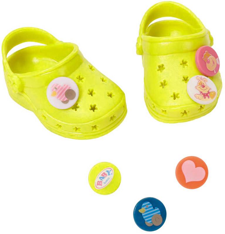 Baby Born Сандали для кукол Фантазийные цвет салатовый сандали mulinsen m520629 2015