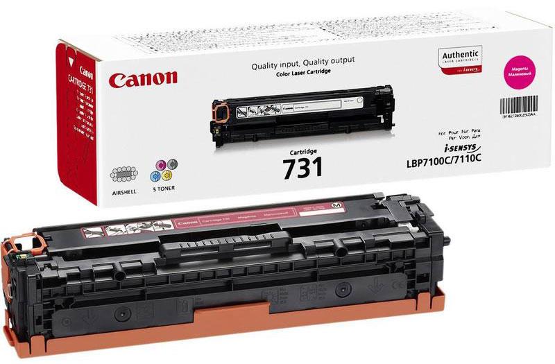 Canon 731, Magenta картридж для LBP7100Cn/7110Cw картридж canon kp 108in 3115b001