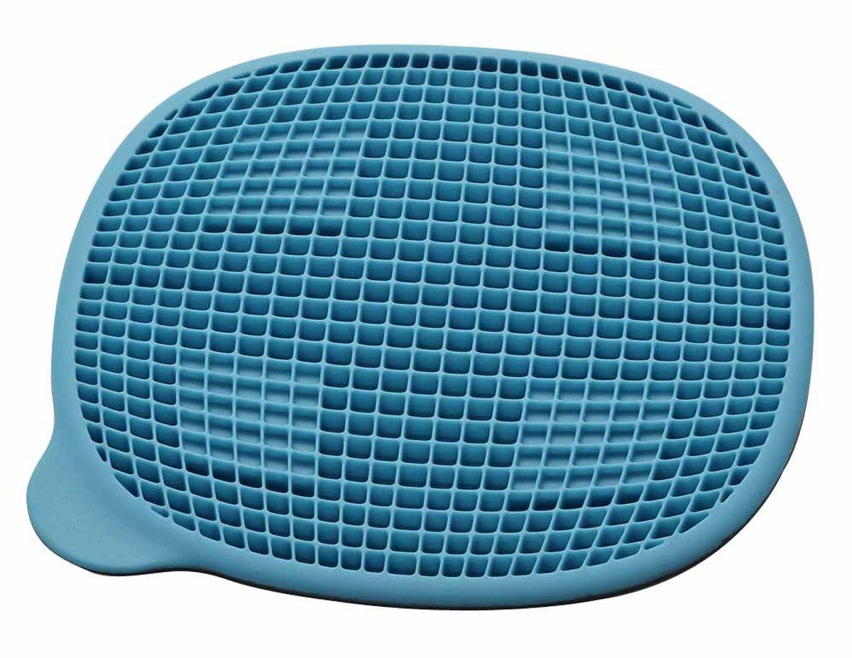 Подставка под горячее Gipfel Vita, с магнитом, цвет: синий, 19,5 х 18 х 0,8 см0229Подставка под горячее Gipfel Vita выполнена из силикона, имеет магнит.
