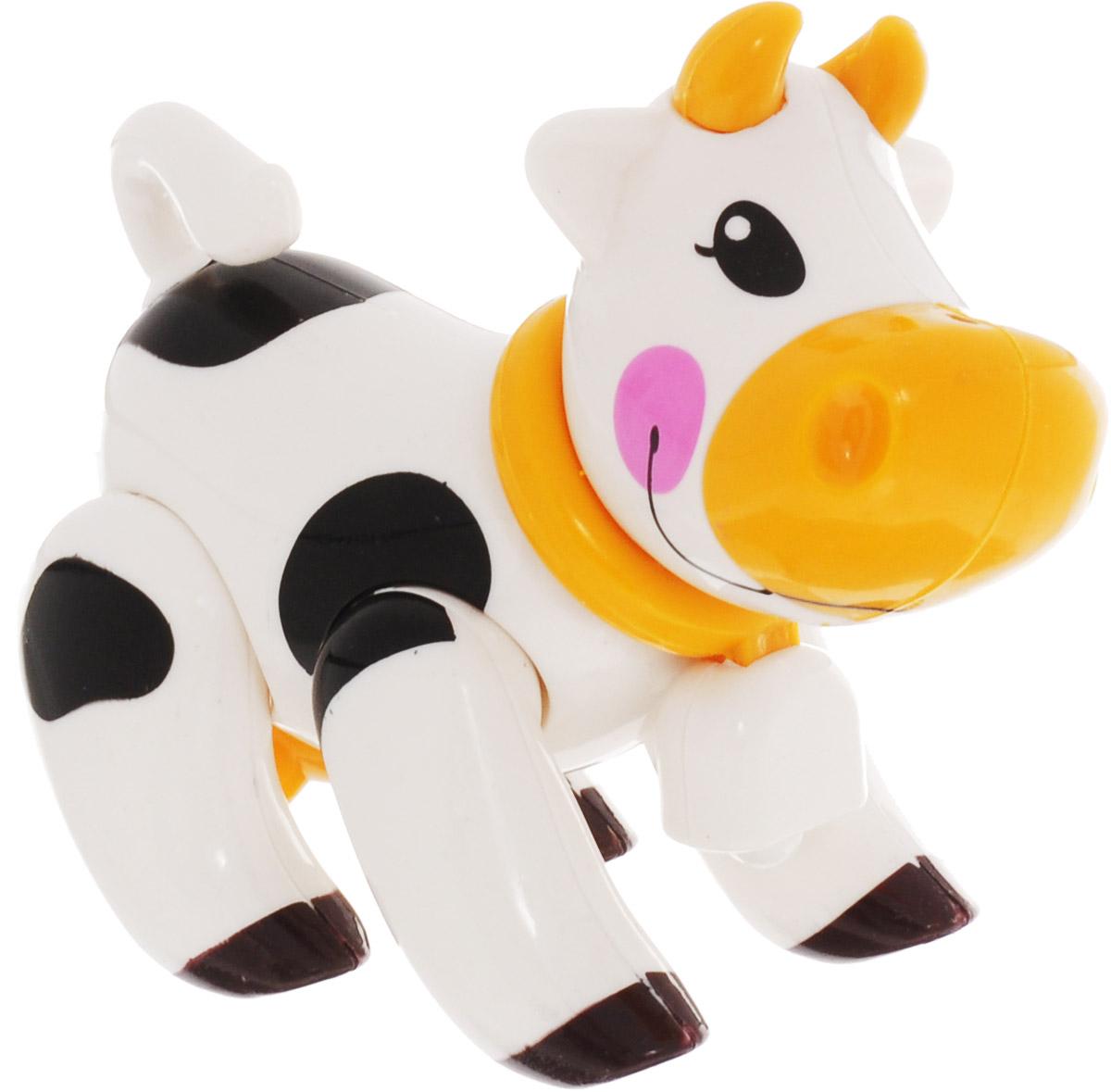 Ути-Пути Развивающая игрушка Корова цвет белый ю каталог ути пути