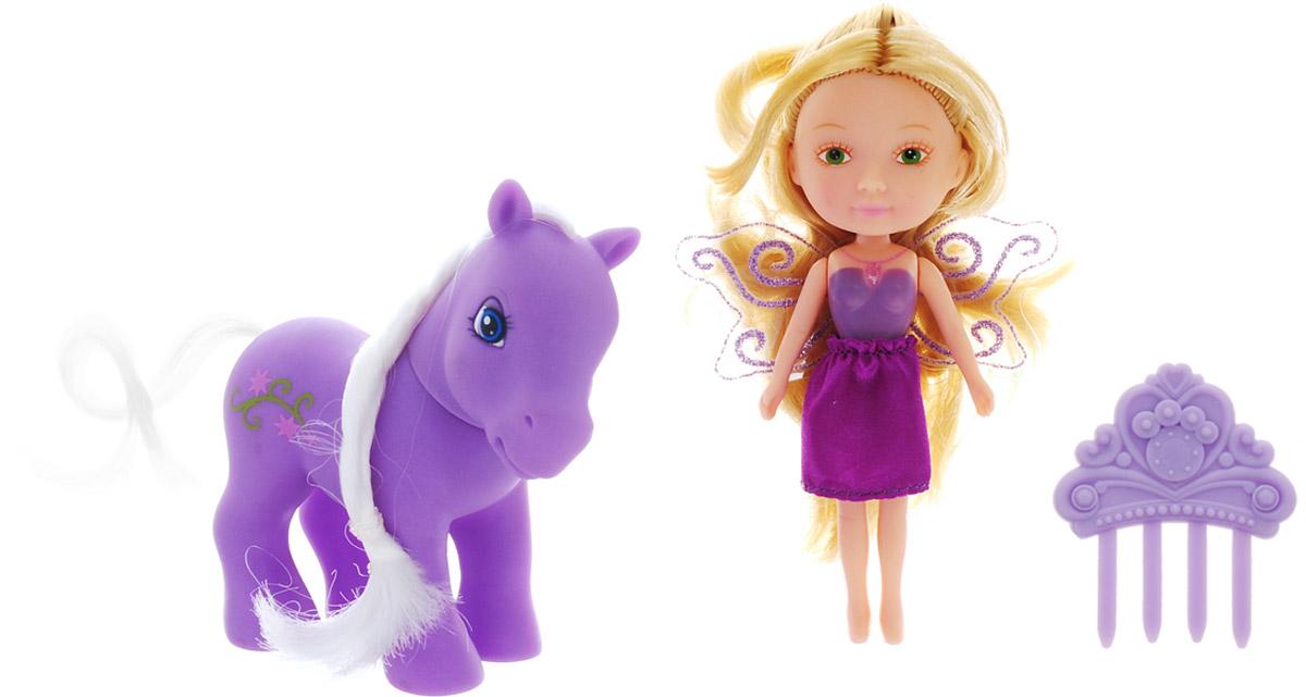 Veld-Co Игровой набор с мини-куклой My Lovely Fairy veld co игровой набор с куклой детский доктор