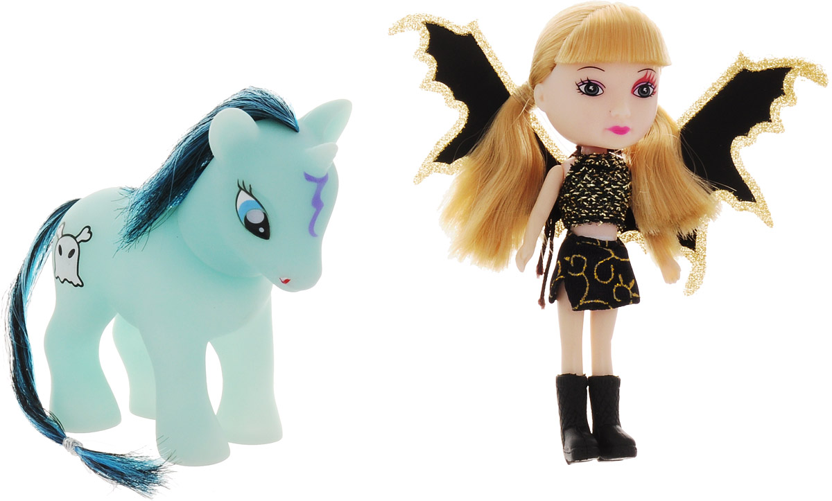 Veld-Co Игровой набор с мини-куклой Pony цвет черный золотой veld co игровой набор с куклой торговый центр