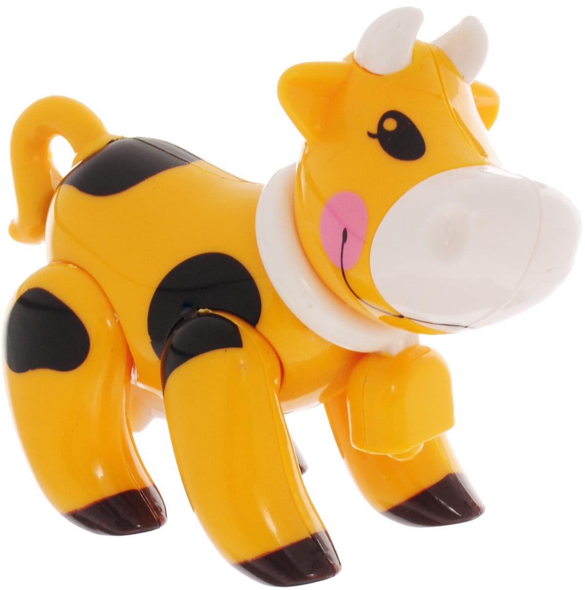 Ути-Пути Развивающая игрушка Корова цвет желтый цена