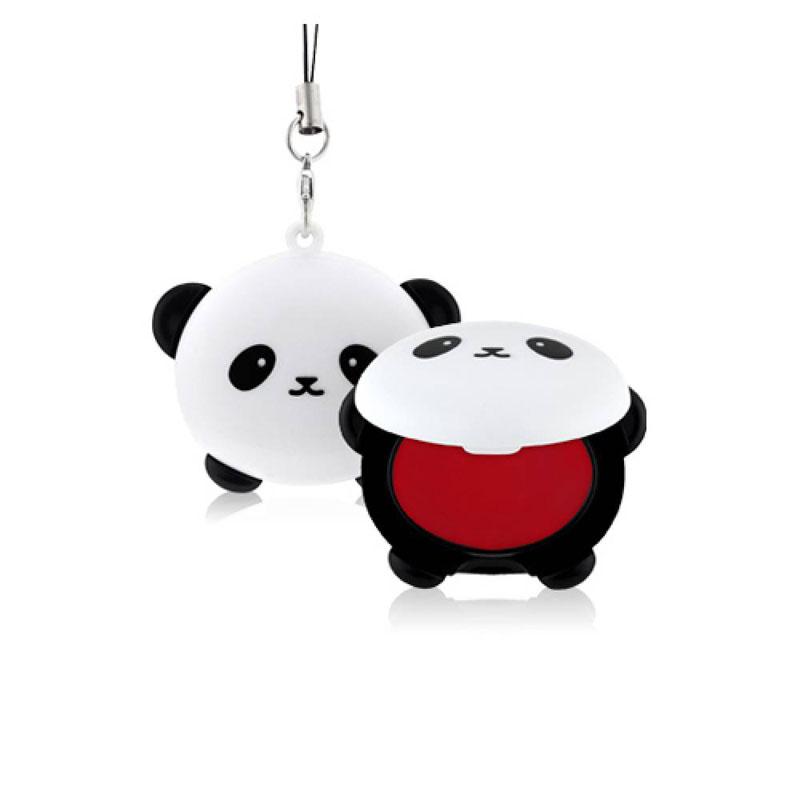 TonyMoly Бальзам для губ Pandas Dream Pocket Lip Balm, 3,8 грLM04011900Невероятно милый аксессуар, который при помощи специальной петельки можно прикрепить к сумочке или телефону, очень похожий на брелок – оттеночный бальзам для губ.Средство позволяет в любое время увлажнить кожу губ, устранить сухость и шелушения, а также подарить губам красивый и сочный розовый оттенок.В составе бальзама сок бамбука, который увлажняет и освежает кожу; экстракт граната – мощный омолаживающий компонент, питает, смягчает и разглаживает кожу, делает ее более упругой, а также деликатно отшелушивает омертвевшие клетки. Срок годности: 30 месяцев.
