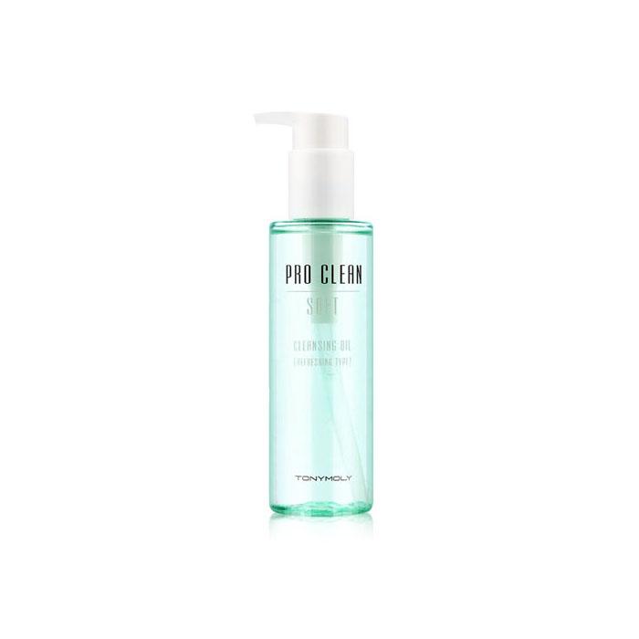 TonyMoly Очищающее масло для снятия макияжа Pro-clean Soft Cleansing Oil, 150 млSS01013200Масло очищает кожу от тяжелого, водостойкого макияжа (бб крема, солнцезащитные крема, гримм), удаляет излишки кожного сала, угри. Способствует выводу токсинов, очищает поры глубоко изнутри, очищает кожу от мертвых клеток кожи, восстанавливает липидный барьер и препятствует появлению сухости кожи. Срок годности: 30 месяцев.
