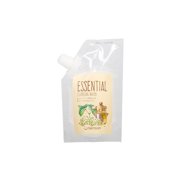 Berrisom Очищающая вода сменный блок Berrisom Essential Cleansing Water - Seed, 150 млБР146Вода эффективно удаляет макияж и увлажняет кожу. Бережно и деликатно очищает кожу от загрязнений, удаляет омертвевшие клетки, насыщает питательными веществами. Имеет успокаивающий эффект, придает ощущение длительного комфорта и свежести. Содержит экстракт семечек подсолнуха, винограда, моркови, ослинника. Не содержит парабенов, животных экстрактов и т.д.