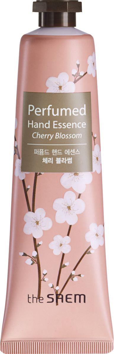 The Saem Крем-эссенция для рук парфюмированный Perfumed Hand Essence, Cherry Blossom, 30 млСМ1080Эссенция парфюмированная для рук. Быстро впитывается, покрывая кожу тончайшей вуалью, придает мягкость и гладкость коже рук, защищает от потери влаги, воздействия факторов внешней среды и агрессивных химических средств.