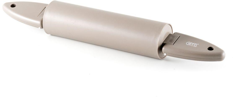 Скалка Gipfel Eco, длина 45 см4010Скалка Gipfel Eco, выполненная из силикона, предназначена для раскатывания теста. Изделие имеет особо легкий ход. Эргономичные ручки делают работу быстрой и приятной. Теперь вам не потребуется прилагать много усилий, чтобы раскатать тесто. Длина скалки: 45 см.