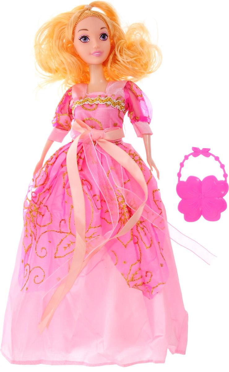 Veld-Co Кукла Benigh Girl цвет платья розовый veld co кукла benigh girl цвет платья голубой