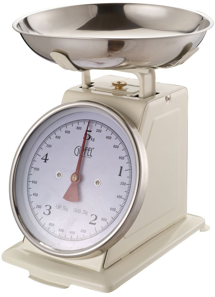 Весы кухонные  Gipfel , механические, 5 кг. 5688 - Кухонные весы