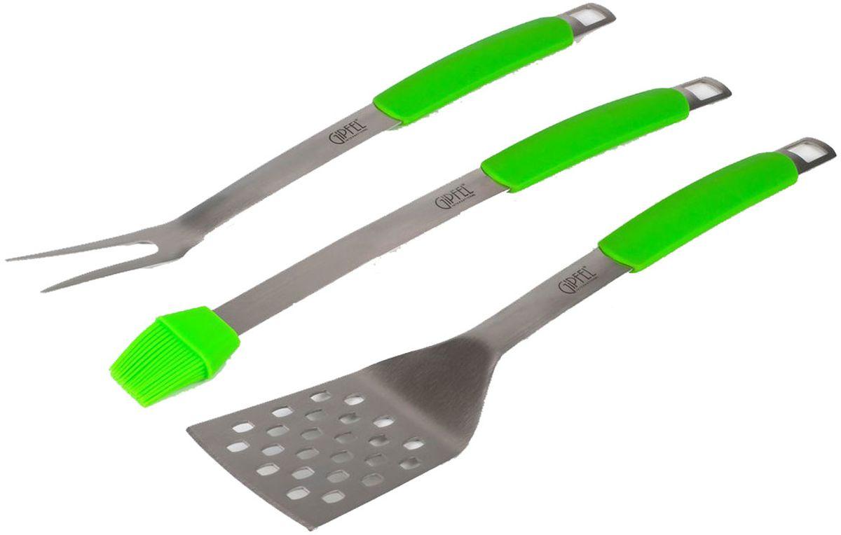 Набор для барбекю  Gipfel , цвет: зеленый, 3 предмета - Посуда для приготовления