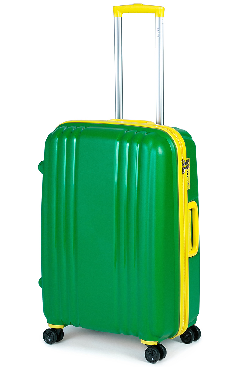 Чемодан Baudet, цвет: зеленый, 65 х 45 х 25 см, 73 л