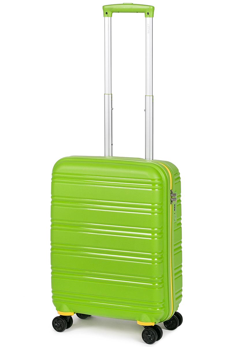 Чемодан Baudet, цвет: зеленый, 49 х 40 х 21 см, 41 л чемодан samsonite чемодан 55 см lite biz