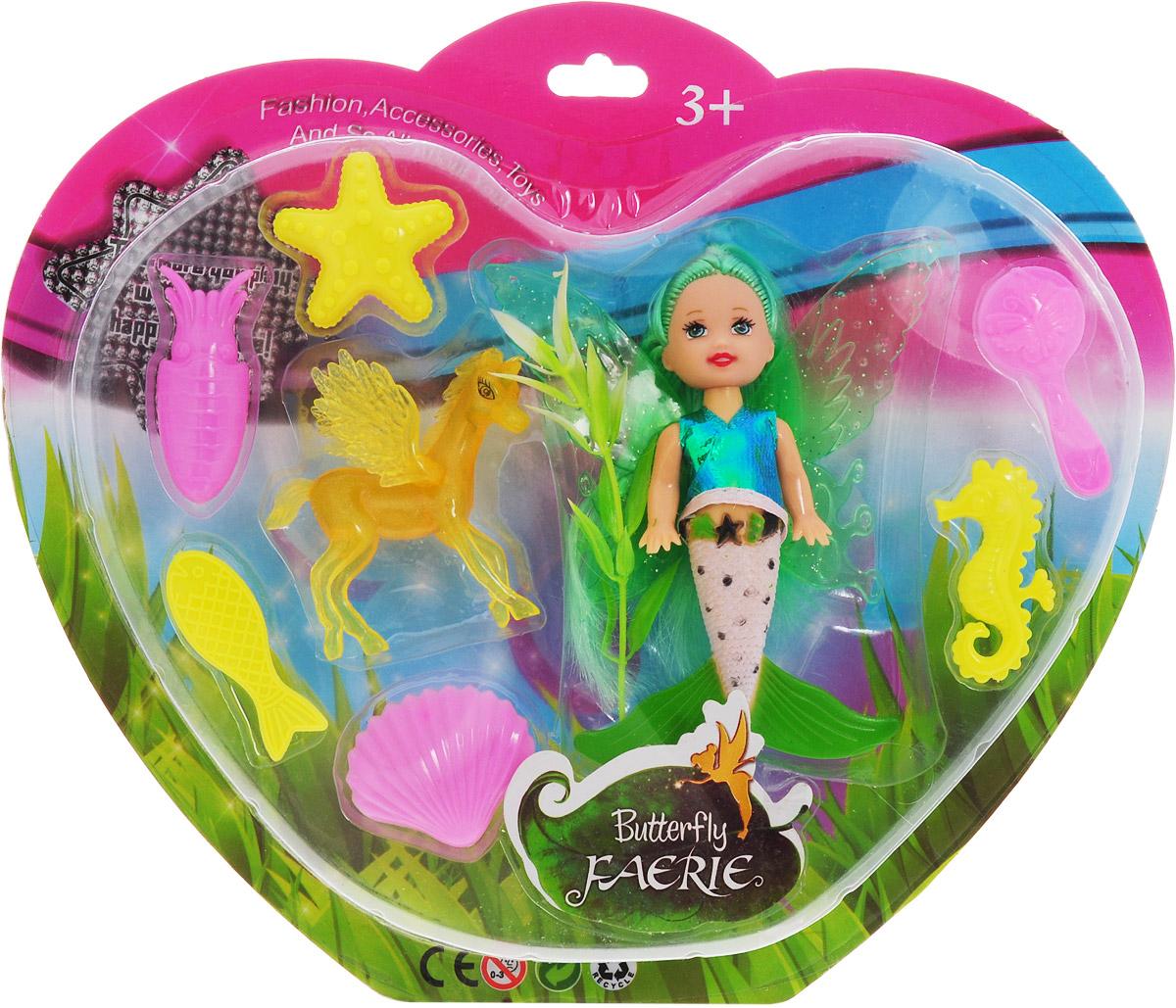 Veld-CoИгровой набор с мини-куклой Butterfly Faerie цвет волос зеленый Veld-Co