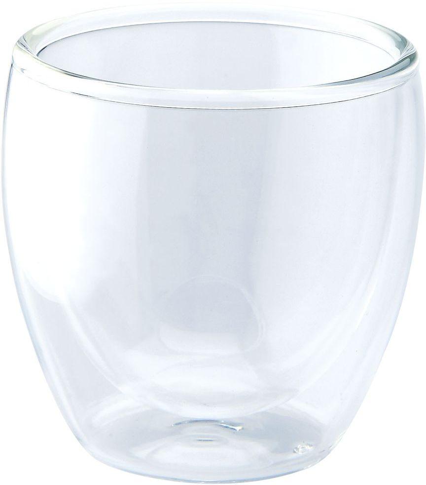 Стакан двойной Gipfel, 100 мл567300Стакан двойной Gipfel выполнен из прочного силикатного стекла. Идеально подходит длясервировки стола.Стакан не только украсит ваш кухонный стол, но и подчеркнет прекрасный вкус хозяйки.