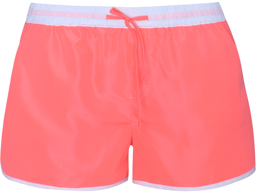 Шорты женские oodji Ultra, цвет: розовый. 57800027/16023/4100Y. Размер S (44)