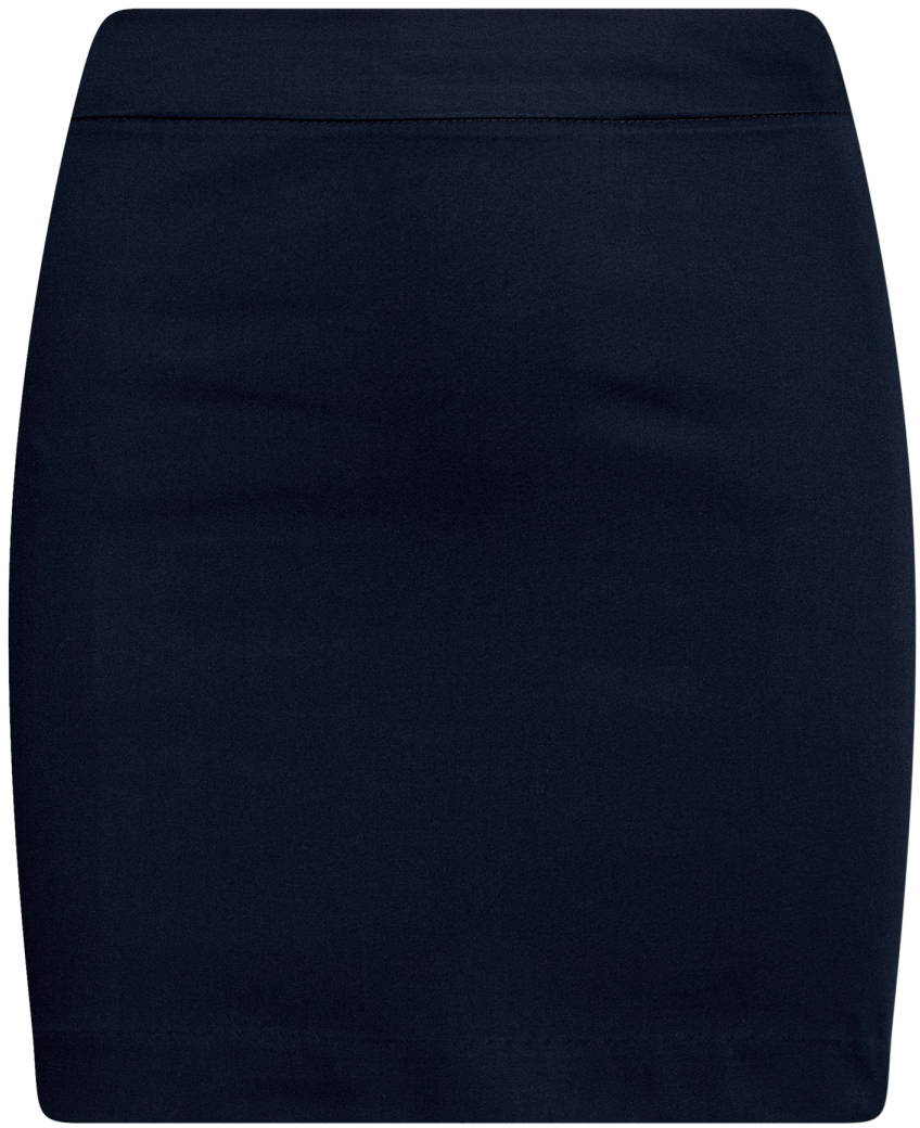Юбка oodji Ultra, цвет: темно-синий. 11601179-11B/42307/7900N. Размер 42-170 (48-170)