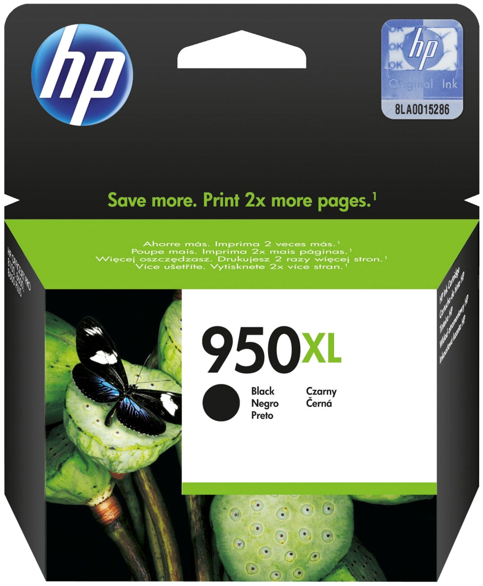 HP CN045AE (HP 950XL), Black картридж для OfficeJet Pro 8100/251dw/8610/276dw смартфон highscreen fest xl pro blue