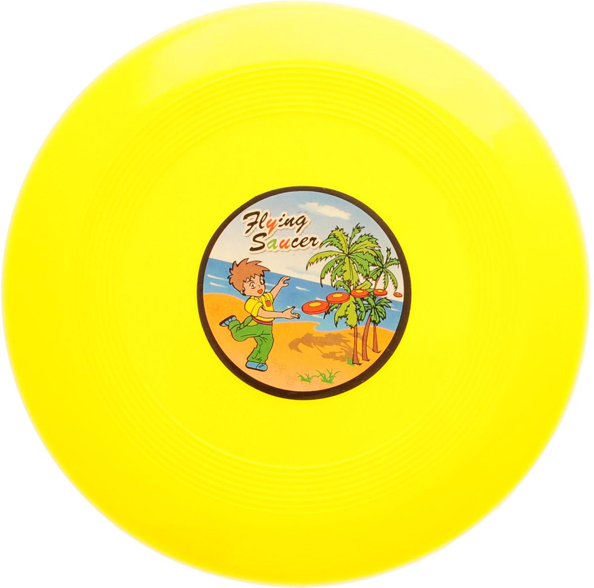 Veld-Co Летающая тарелка цвет желтый диаметр 14 см степлеры канцелярские veld co степлер