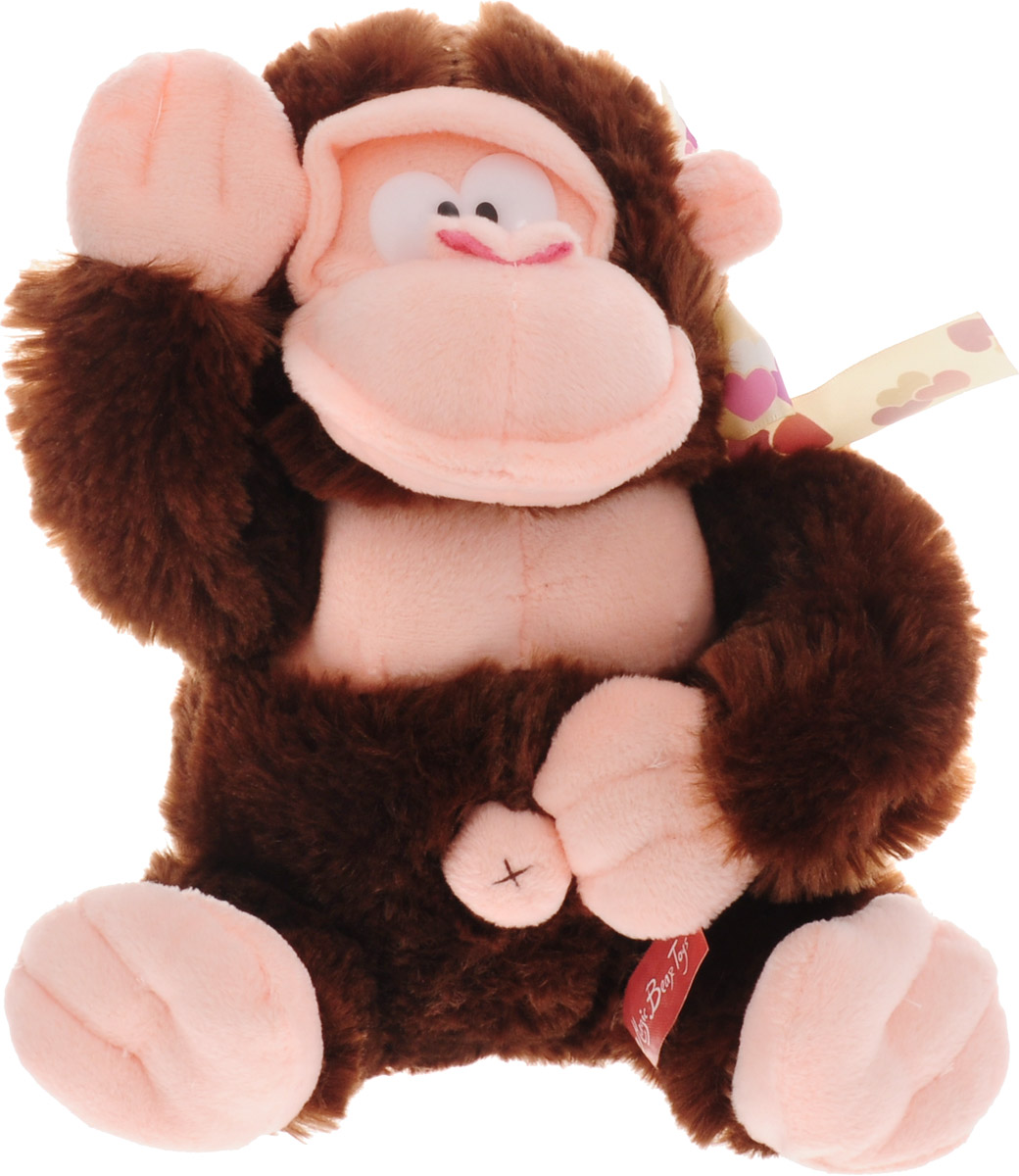 Magic Bear Toys Мягкая игрушка Обезьяна Федот цвет темно-коричневый 20 см фонокорректор coda 06x black