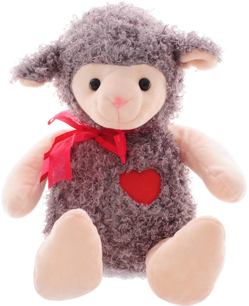 Magic Bear Toys Мягкая игрушка Овечка цвет серо-коричневый 28 см браун вт 5010