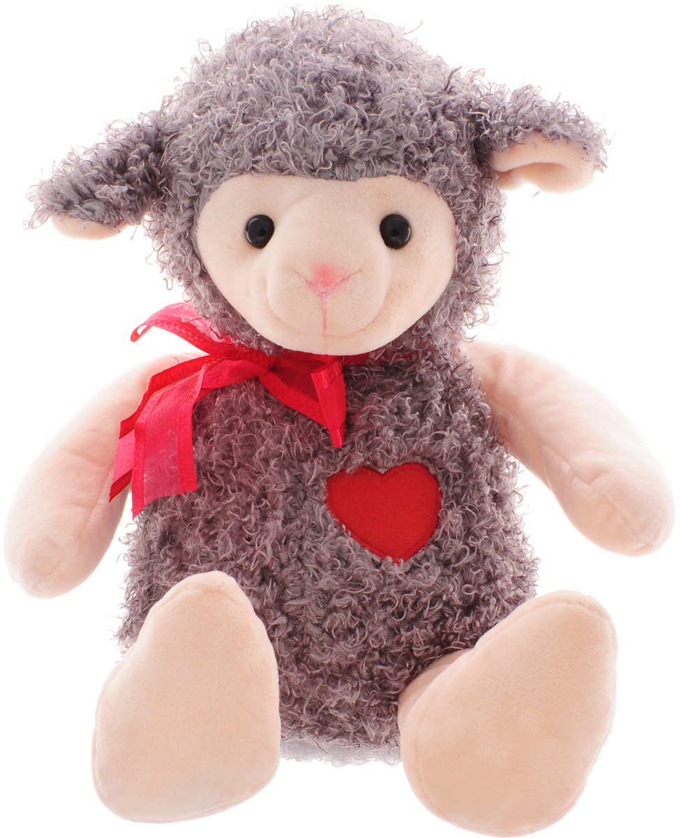 Magic Bear Toys Мягкая игрушка Овечка цвет серо-коричневый 28 см kvr16lse11 4 kingston