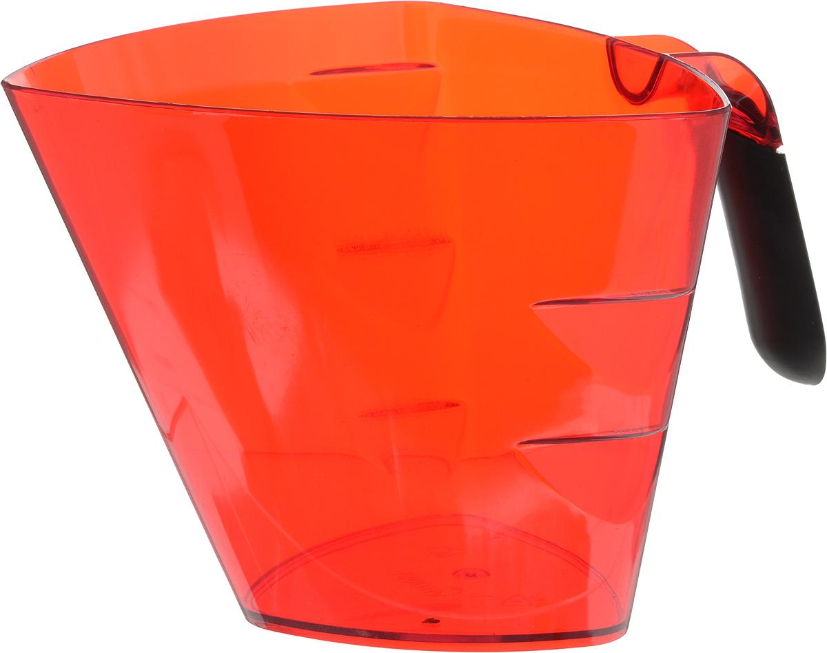 Стакан мерный Giaretti Cristallo, цвет: красный, 1,5 лGR3067МИКС_красныйМерный прозрачный стакан Giaretti Cristallo выполнен из высококачественного пластика. Стакан оснащенудобной ручкойс противоскользящей вставкой и носиком, которые делают изделие еще болеепростым в использовании. Мерная шкала внутри стакана, позволяет измерить жидкости до 1,5 л.Удобная форма стакана позволяет как отмерить необходимое количество продукта, так ивзбить/замесить его непосредственно в прямо в этой же емкости.Такой стаканчикпригодится каждой хозяйке на кухне, ведь зачастую приготовлениенекоторых блюд требует известной точности.Объем: 1,5 л.Размер: 17,2 х 17,2 х 15 см.Длина ручки: 10,5 см. Толщина стенок: 3 мм.