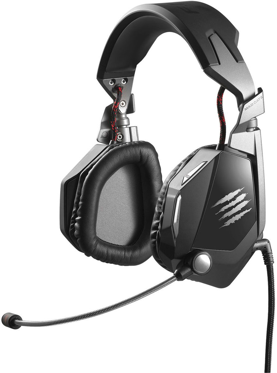 Mad Catz F.R.E.Q.5 Stereo Headset, Black игровые наушники