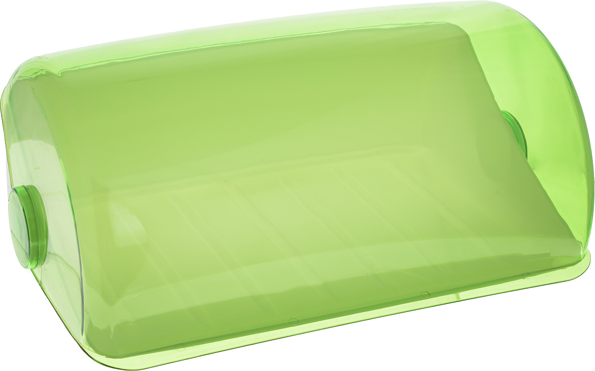 Хлебница Giaretti, цвет: салатовый, 39,5 х 25 х 17,7 смGR1674_зеленыйХлебница Giaretti, изготовленная из высококачественного пластика, прекрасно сохранит хлебсвежим, а также украсит вашу кухню. Хлебница не поглощает запахов и не окрашивается. Крышкаплотно и легко закрывается. Стильная хлебница прекрасно впишется в интерьер кухни, универсальная форма хлебницы удобна и практична в использовании.
