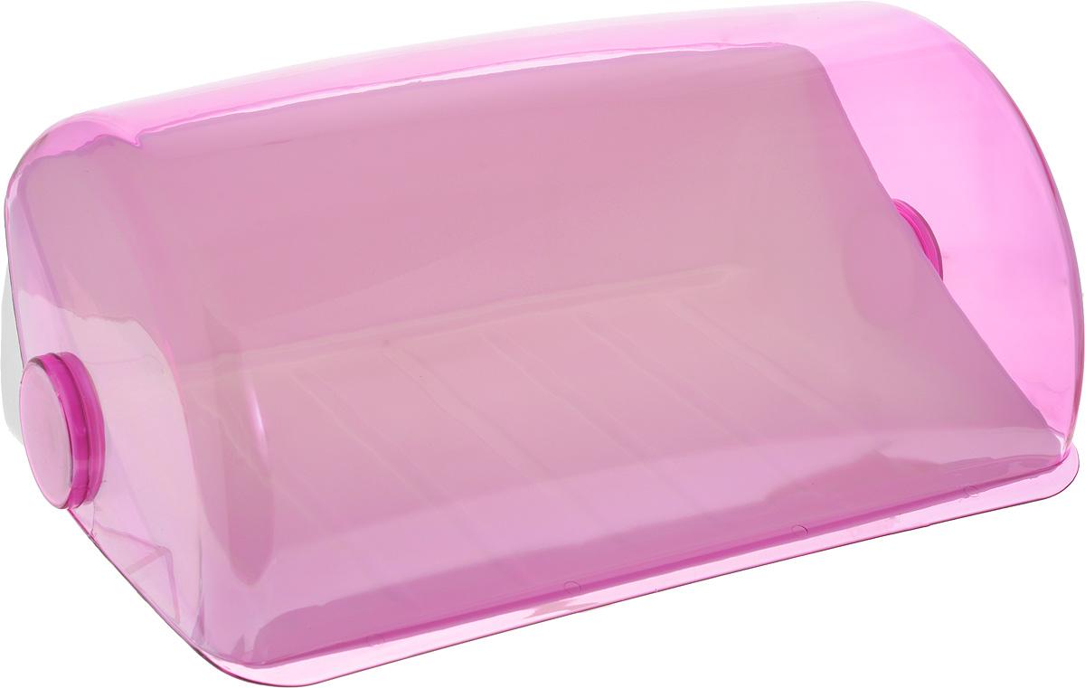Хлебница Giaretti, цвет: фиолетовый, 39,5 х 25 х 17,7 смGR1674МИКС_фиолетовыйХлебница Giaretti, изготовленная из высококачественного пластика, прекрасно сохранит хлеб свежим, а также украсит вашу кухню. Хлебница не поглощает запахов и не окрашивается. Крышка плотно и легко закрывается. Стильная хлебница прекрасно впишется в интерьер кухни,универсальная форма хлебницы удобна и практична в использовании.