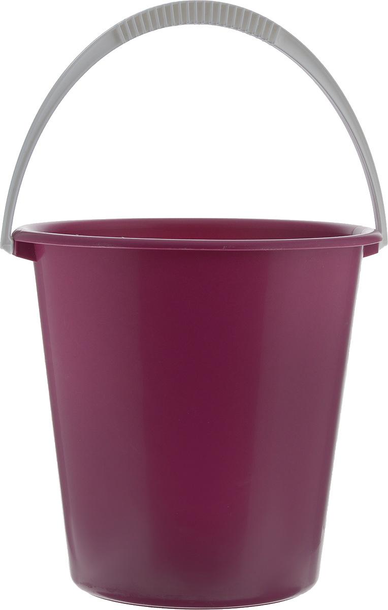 Ведро Альтернатива Крепыш, цвет: малиновый, 12 лМ520_малиновыйВедро Альтернатива Крепыш, изготовленное из высококачественного пластика, оснащено удобной ручкой. Оно легче железного и не подвергается коррозии. Такое ведро станет незаменимым помощником в хозяйстве.Диаметр (по верхнему краю): 30 см.Высота: 29 см.