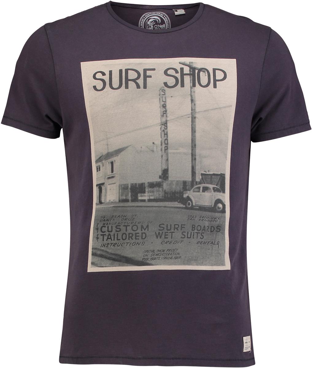 Футболка мужская O'Neill Lm The 50's T-Shirt, цвет: темно-серый. 7A2320-8026. Размер XXL (54/56) мужская футболка t shirt tmt t s 2xl 160030