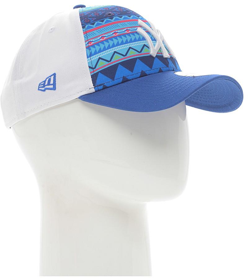 Бейсболка New Era Printed 9forty, цвет: синий. 11380798-BLU. Размер универсальный