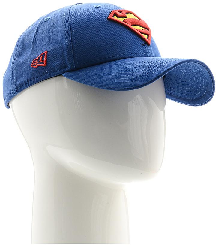 Бейсболка New Era Character 9forty Superman, цвет: синий, красный, желтый. 11379827-BLU. Размер универсальный11379827-BLUСтильная бейсболка New Era, выполненная из высококачественного материала, идеально подойдет для прогулок, занятий спортом и отдыха.Изделие оформлено объемным вышитым логотипом знаменитого супергероя Супермена и логотипом бренда New Era.Бейсболка надежно защитит вас от солнца и ветра. Эта модель станет отличным аксессуаром и дополнит ваш повседневный образ.