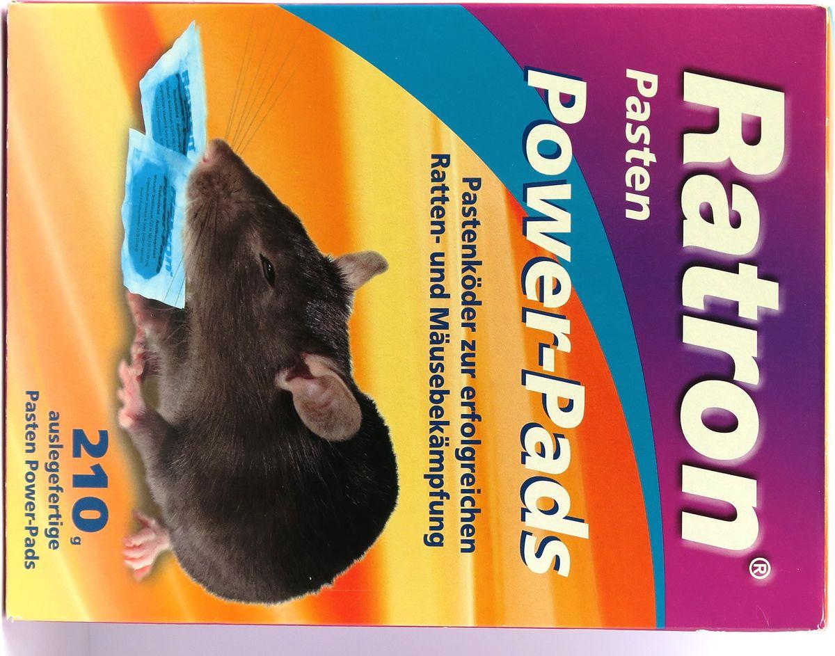 Мягкая приманка от мышей и крыс Ratron, 14 шт по 15 г0694-933Новейшая высокопривлекательная пастообразная приманка для эффективной борьбы и надежного предотвращения появления крыс и мышей в любых местах (дом, дача, подвал, гараж, двор, хлев и т.д.). Применим как в сухих, так и во влажных помещениях. Приманка расфасована в готовые к применению порционные пакетики. Поедание приманки приводит к внутренним кровоизлияниям, от которых крысы и мыши спокойно умирают. Даже однократный прием средства ведет через 4-7 дней к гарантированной безболезненной смерти. Сородичей не настроаживает эта естественная спокойная смерть и они продолжают поедать приманку до тех пор, пока исчезнет весь выводок грызунов.