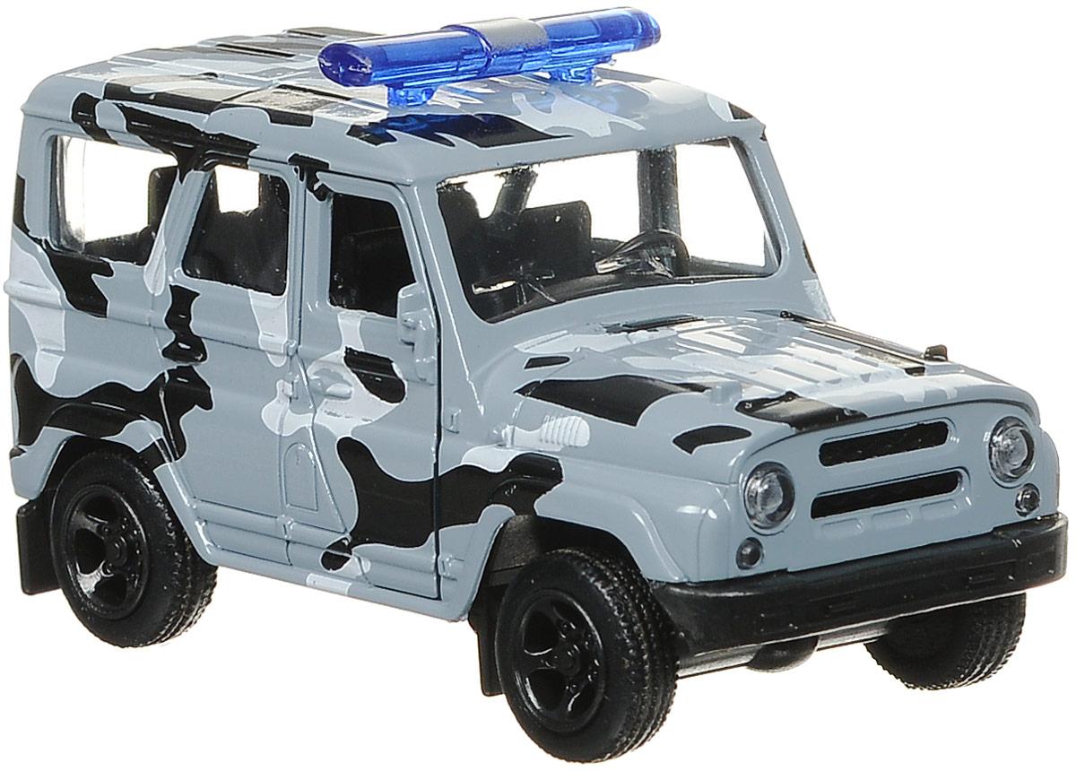 ТехноПарк Машина инерционная Омон Uaz Hunter технопарк автомобиль uaz hunter пожарная служба