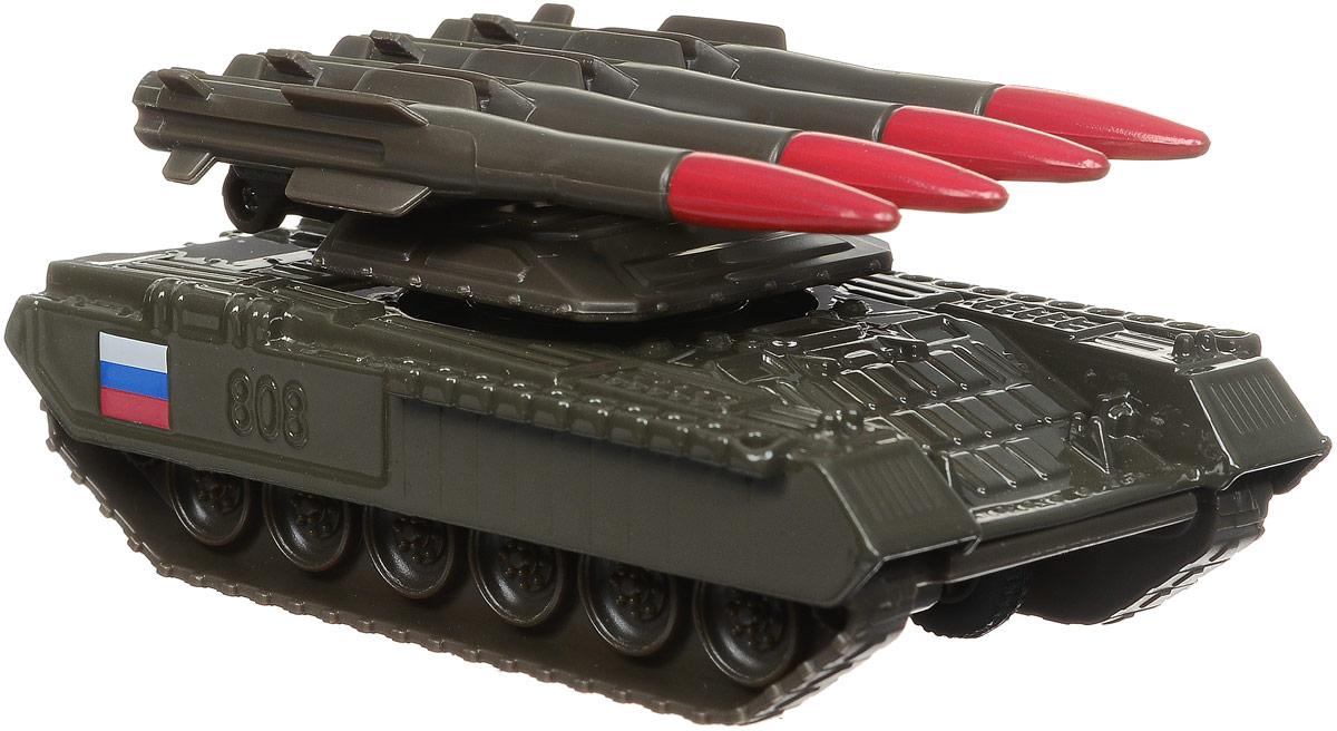 ТехноПарк Танк инерционный с ракетной установкой auldey yw858527 f viper на ик управлении с гироскопом с военной ракетной установкой 28см 3 канала управления