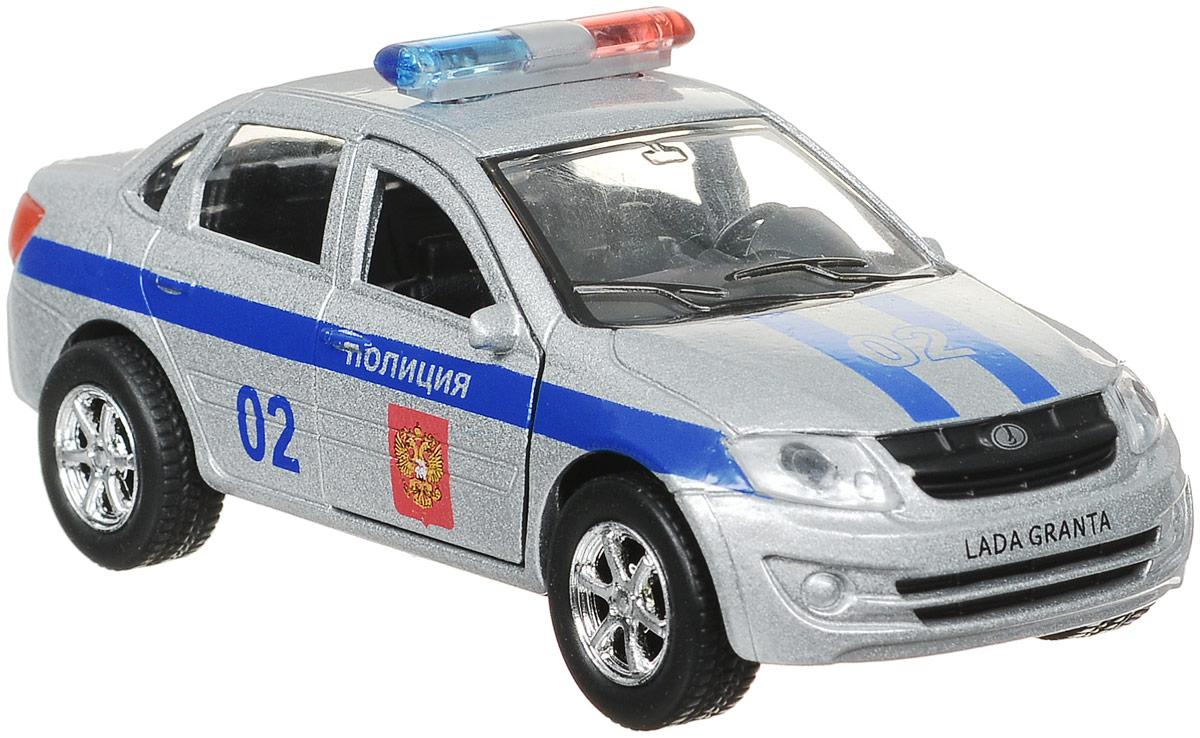 ТехноПарк Машина инерционная Полиция LADA Granta технопарк игровой набор полиция