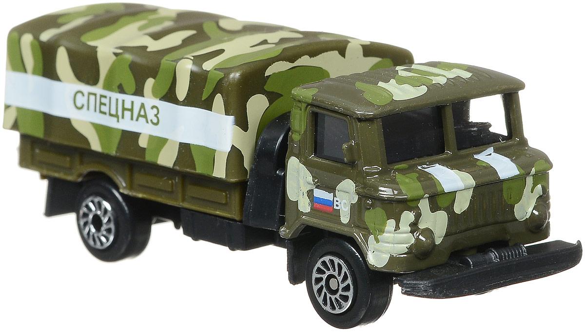 ТехноПарк Автомомбиль ГАЗ 66 Спецназ технопарк газ 66 с пушкой