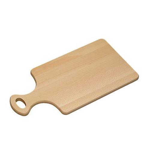 Доска разделочная Kesper, цвет: светлое дерево, 39 х 20 х 1,5 см6800-5Разделочная доска Kesper изготовлена из дерева и оснащена удобной ручкой с отверстием для подвешивания. Функциональная и простая в использовании разделочная доска Kesper прекрасно впишется в интерьер любой кухни и прослужит вам долгие годы. Размер доски: 39 х 20 х 1,5 см.