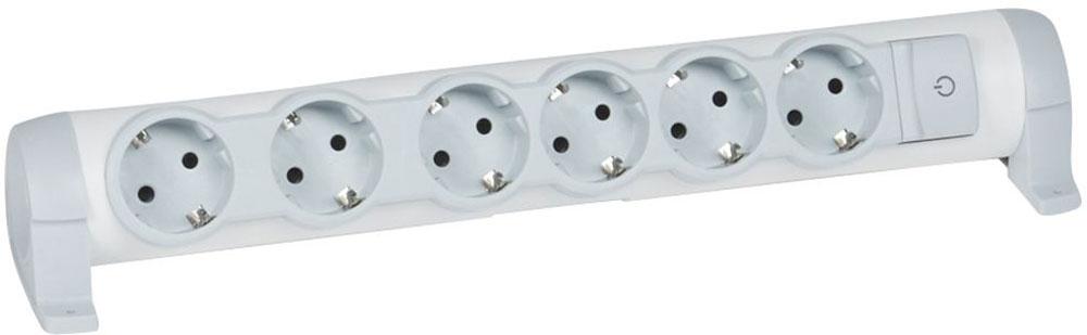 Legrand Комфорт сетевой удлинитель 6 x 2К+З, без кабеля - Сетевые фильтры, тройники и удлинители