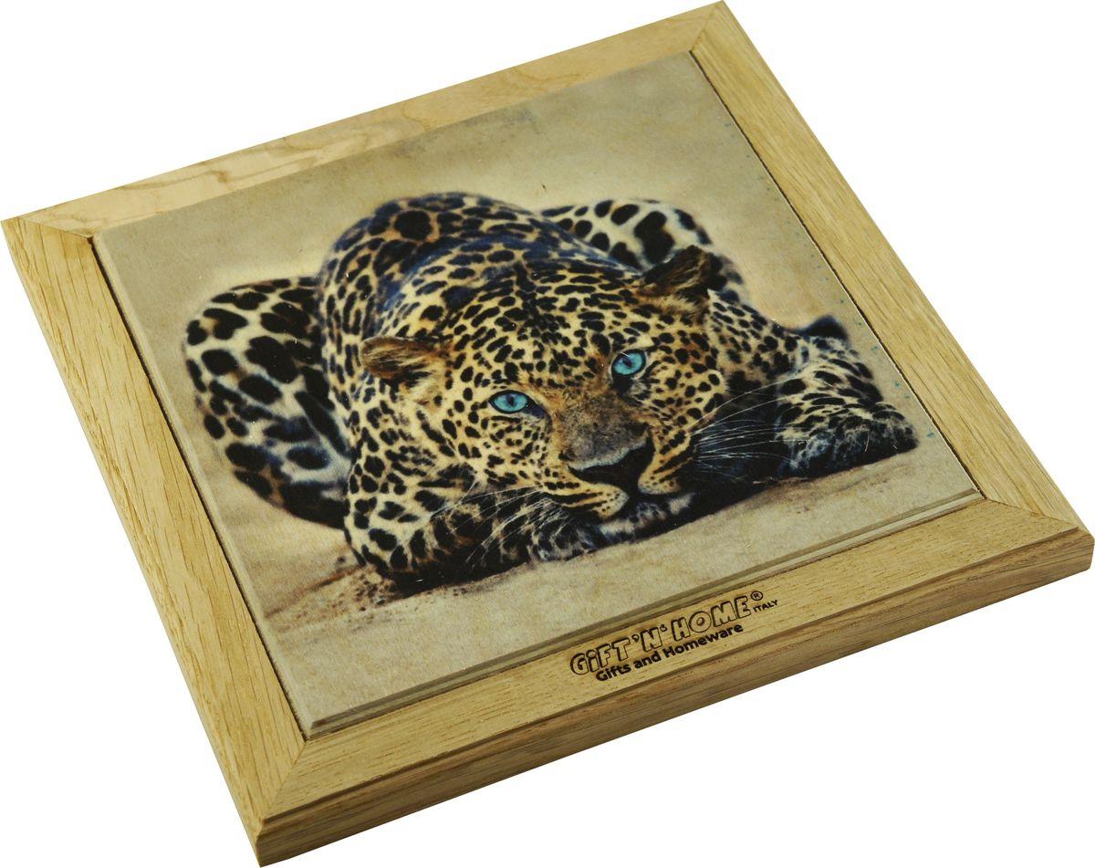 Подставка под горячее Gift'n'home Леопард, 20 х 20 см