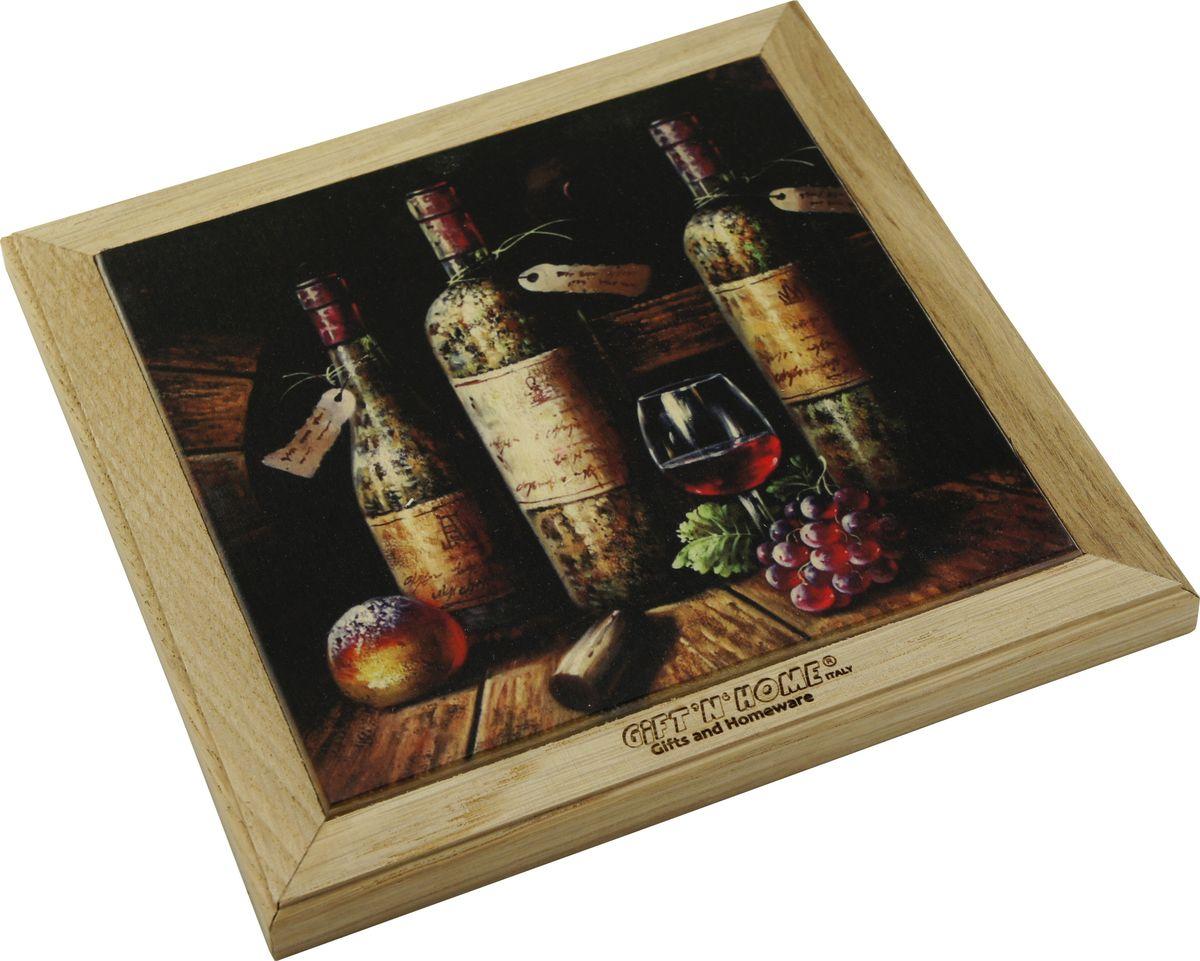 Подставка под горячее Giftnhome Винтажные вина, 49 х 20 смWTR-WineПодставка Giftnhome Винтажные вина изготовлена из ценных пород древесины, дуб/бук, выполнена с декоративной вставкой из качественной фанеры, с нанесением цветных фотопринтов. Такая подставка украсит интерьер вашей кухни и подчеркнет прекрасный вкус хозяина, а также станет отличным подарком. Размер подставки: 49 х 20 см.