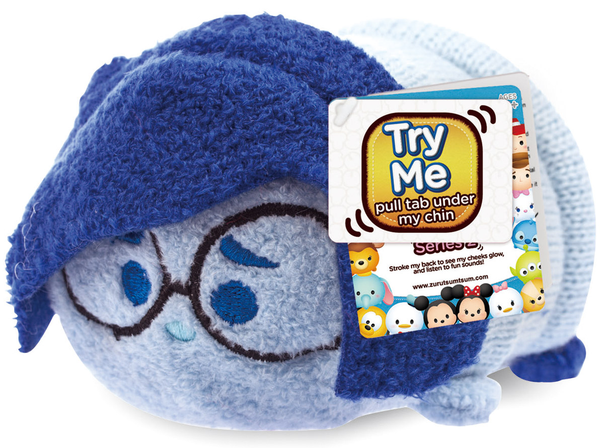 Tsum Tsum Мягкая озвученная игрушка Грусть 13 см new in box tsum tsum stack n play toy shop original