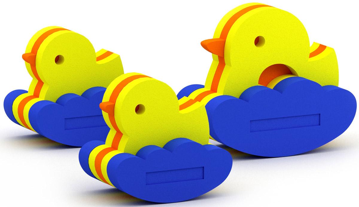 El'BascoToys Игрушка-конструктор для купания Семейство уточек набор для купания спектр
