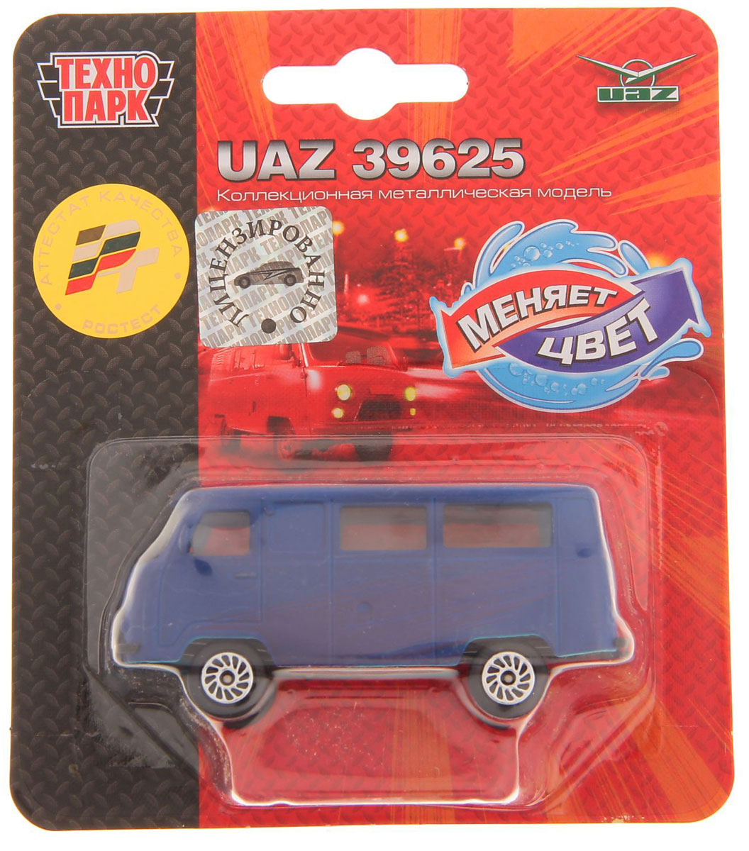 ТехноПарк Автомобиль UAZ 39625 autotime модель автомобиля uaz 39625 дорожные работы