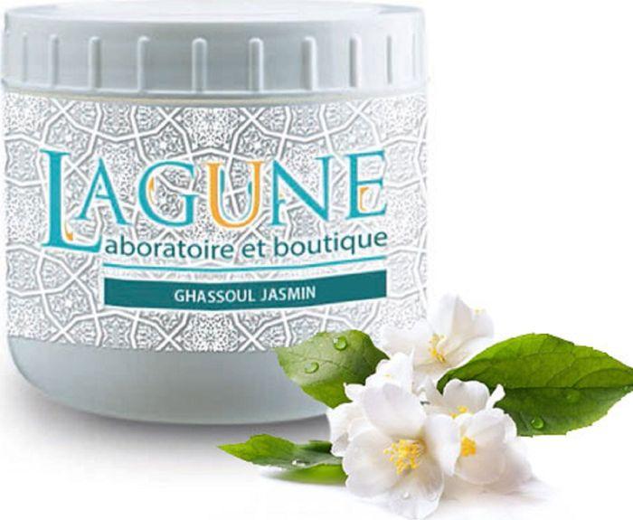 Lagune Маска на основе марокканской глины Гассуль Жасмин, против расширенных и забитых пор 250 мл4627117800109Вулканическая марокканская глина (гассуль) с глубокой древности применяется для косметических целей. Она очищает кожу, выводит токсины и загрязнения, сужает поры, улучшает структуру кожи, подтягивает ее, стимулирует процессы регенерации, уменьшает воспаления при высыпаниях на коже. Может применяться для лица, тела и волос .