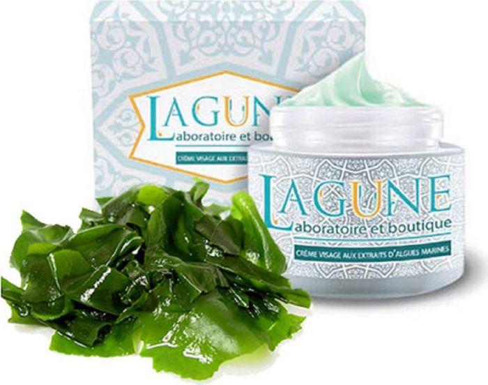 Lagune Крем для лица с экстрактом водорослей, для сияющей и гладкой кожи 75 мл4627117800222Крем стимулирует регенерацию клеток и обеспечивает немедленное и длительное увлажнение. Питает, смягчает, успокаивает кожу. Подходит для нормальной кожи и склонной к жирности до 40 лет. Крем хорошо впитывается и не оставляет жирного блеска. Макроэлементы, входящих в его состав водорослей, поддерживают уровень увлажненности кожи, участвуют в процессах восстановления минерального баланса. Комплекс витаминов предотвращает возникновение дряблости и пористости кожи. Входящий в состав крема экстракт морских водорослей обладает высокой концентрацией активных веществ (липиды, ненасыщенные жирные кислоты типа омега-3 и омега-6, хлорофилл, каротиноиды, жирорастворимые витамины), положительно влияющих на здоровье и молодость кожи. Масло сладкого миндаля замедляет процессы старения клеток, уменьшает воспалительные процессы, предупреждает расширение пор и налаживает работу сальных желез. Витамин Е активно стимулирует регенерацию кожи, улучшает ее кровоснабжение и увлажнение.